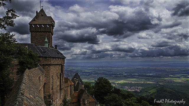 Le Haut Koenigsbourg  Crédit photo @Fredphotography